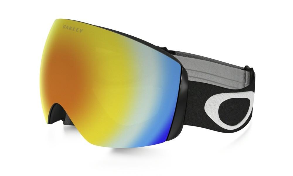 Lyžařské brýle Oakley Flight Deck XM Matte Black Fire Iridium