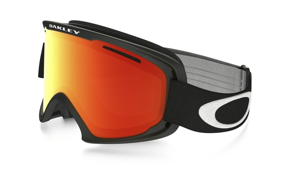 Oakley O2 XM Matte Black Fire Iridium