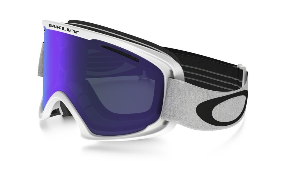 Lyžařské brýle Oakley O2 XM Matte White Violet Iridium