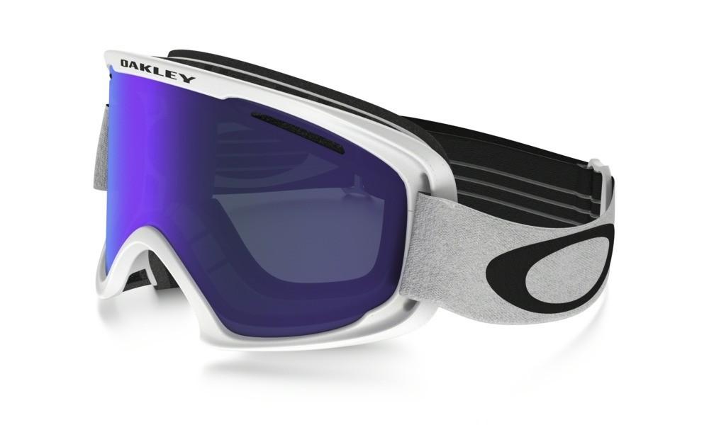Oakley O2 XM Matte White Violet Iridium