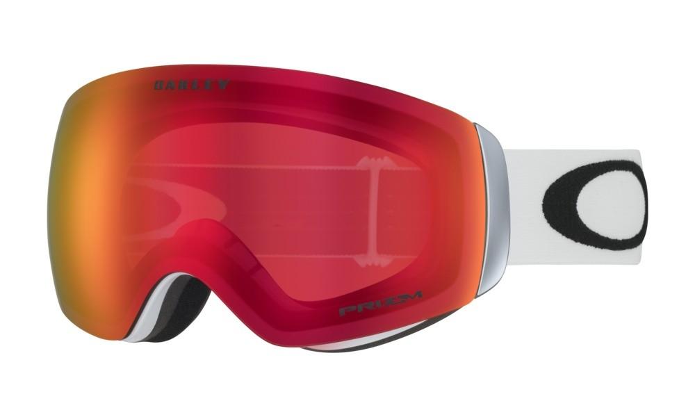 Lyžařské brýle Oakley Flight Deck XM Matte White Prizm Torch Iridium