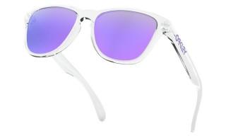 Polished Clear / Violet Iridium