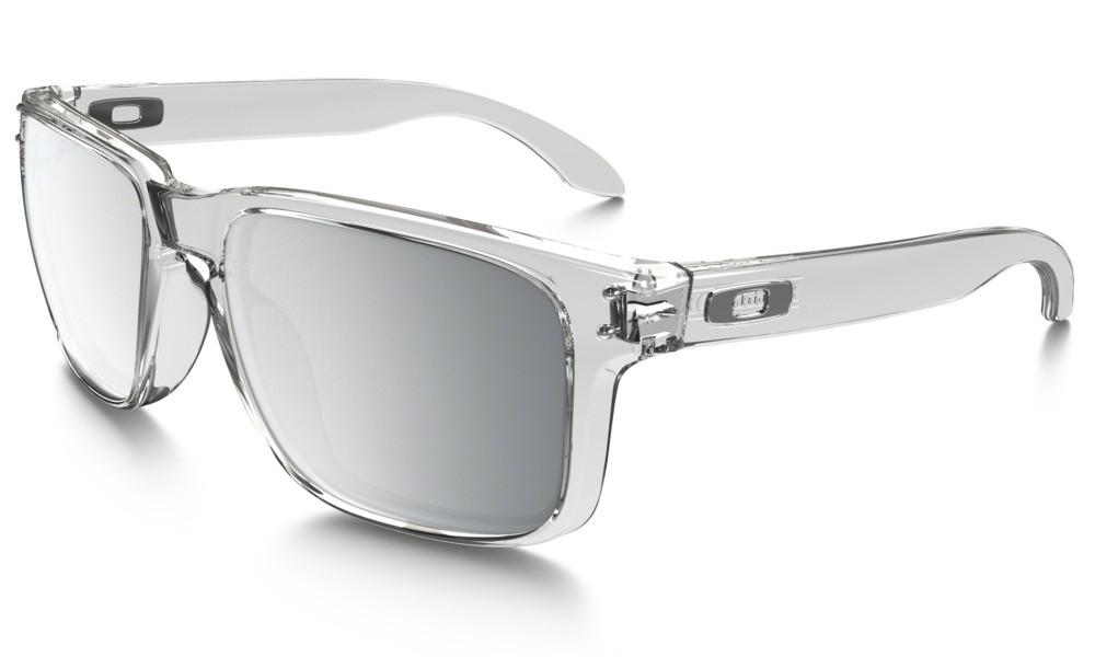 Sluneční brýle Oakley Holbrook Polished Clear Chrome Iridium