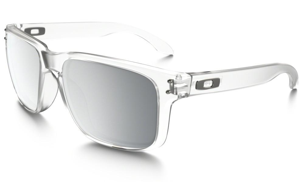 Sluneční brýle Oakley Holbrook Matte Clear Chrome Iridium