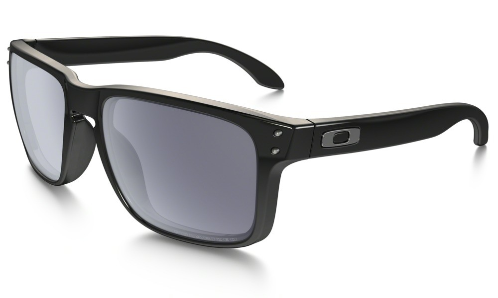 Brýle Oakley Holbrook Polished Black Grey Polarized