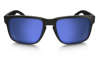 Oakley Holbrook Matte Black Ice Iridium Polarized č.2
