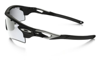 Oakley Radarlock Polished Black Clear Blk Irid Photo Activated č.4