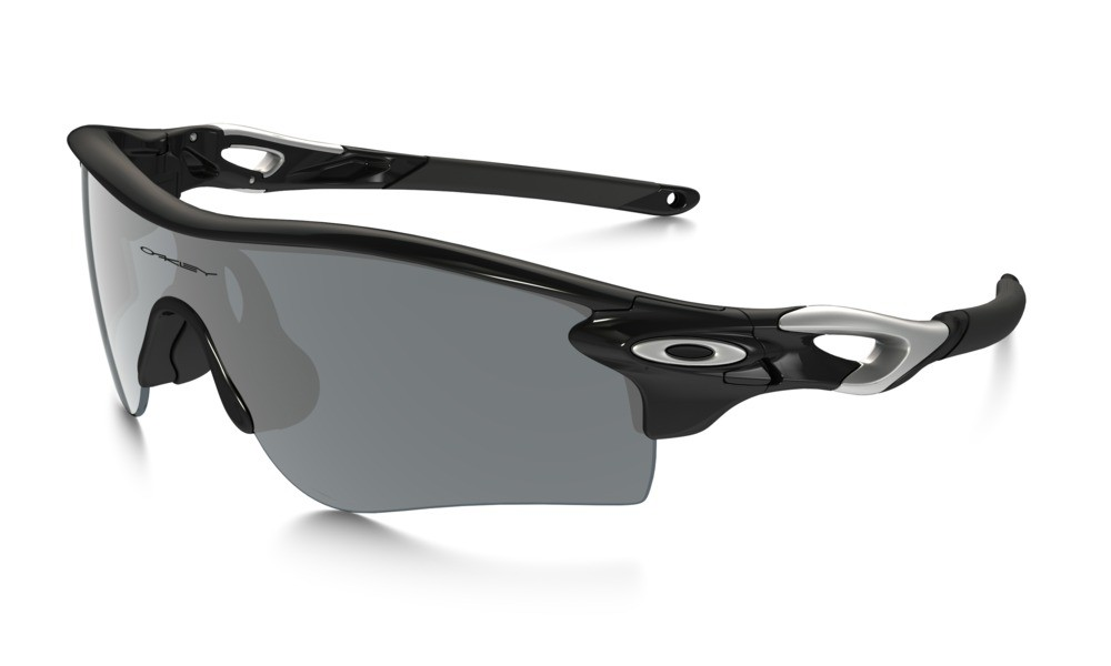 Oakley Radarlock Polished Black Black Iridium