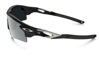 Oakley Radarlock Polished Black Black Iridium č.4