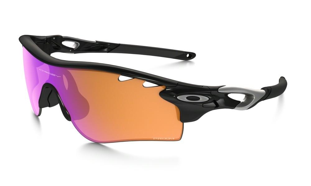 Oakley Radarlock polished black/Prizm Trail + clear Vented