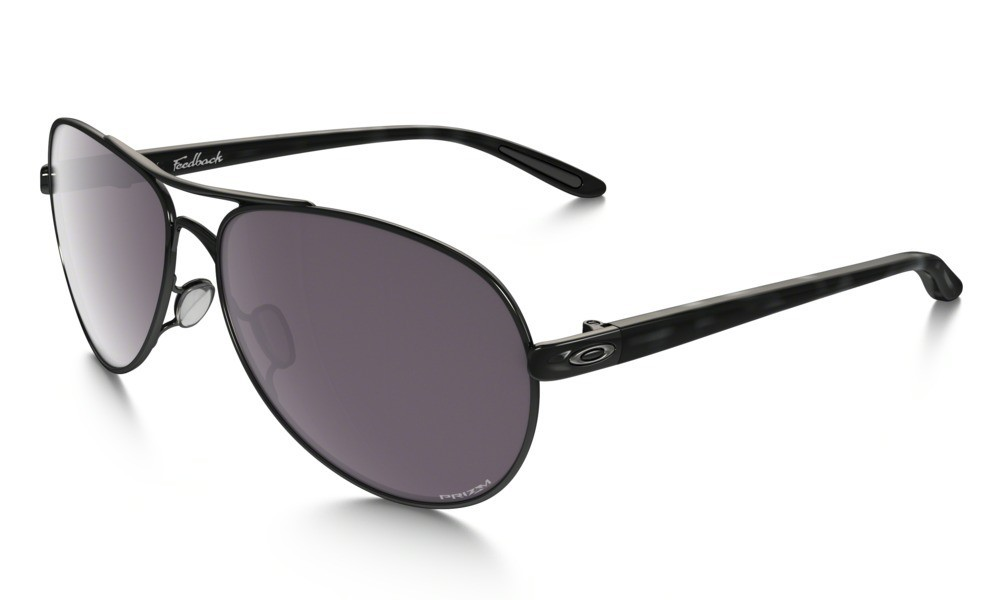 Oakley Feedback Polished Black Prizm Daily Polarized