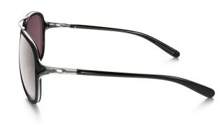 Oakley Kickback Satin Chrome / Black Iridium Polar č.4