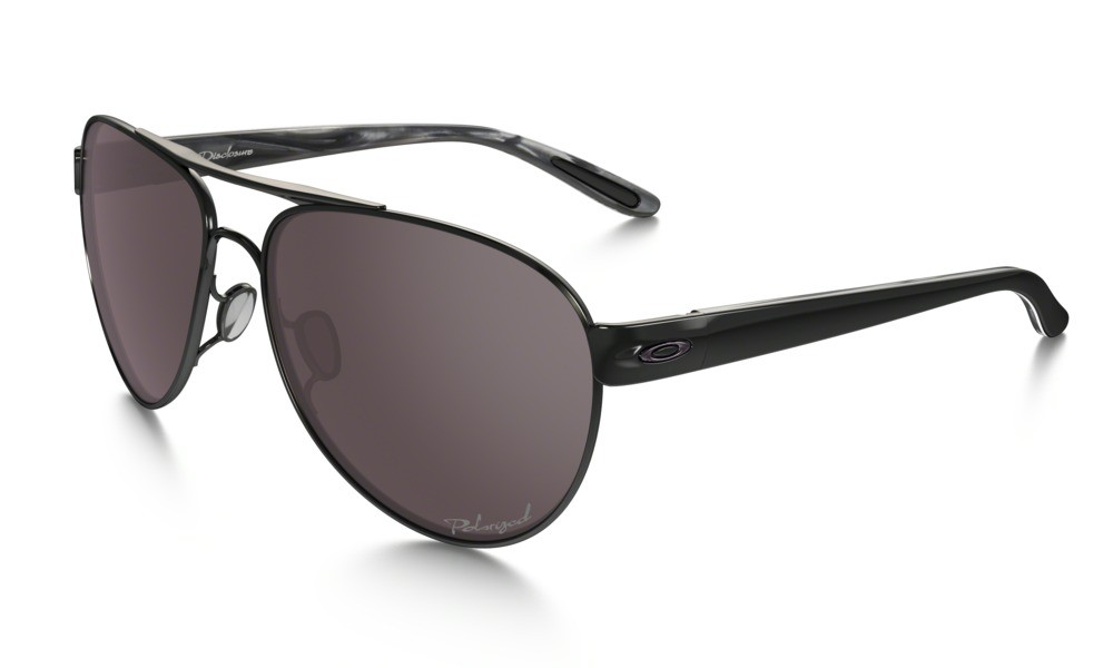 Oakley Disclosure Polished Black / Grey Polarized