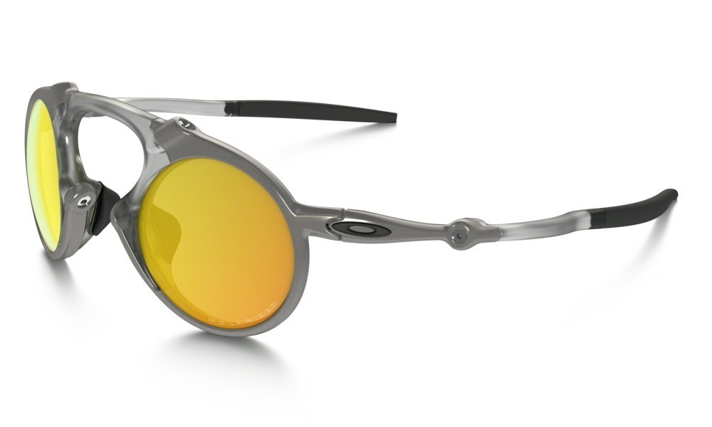 Oakley Madman Plasma Fire Iridium Polarized