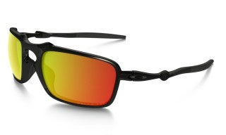 Oakley Badman Dark Carbon Ruby Iridium Polarized č.1
