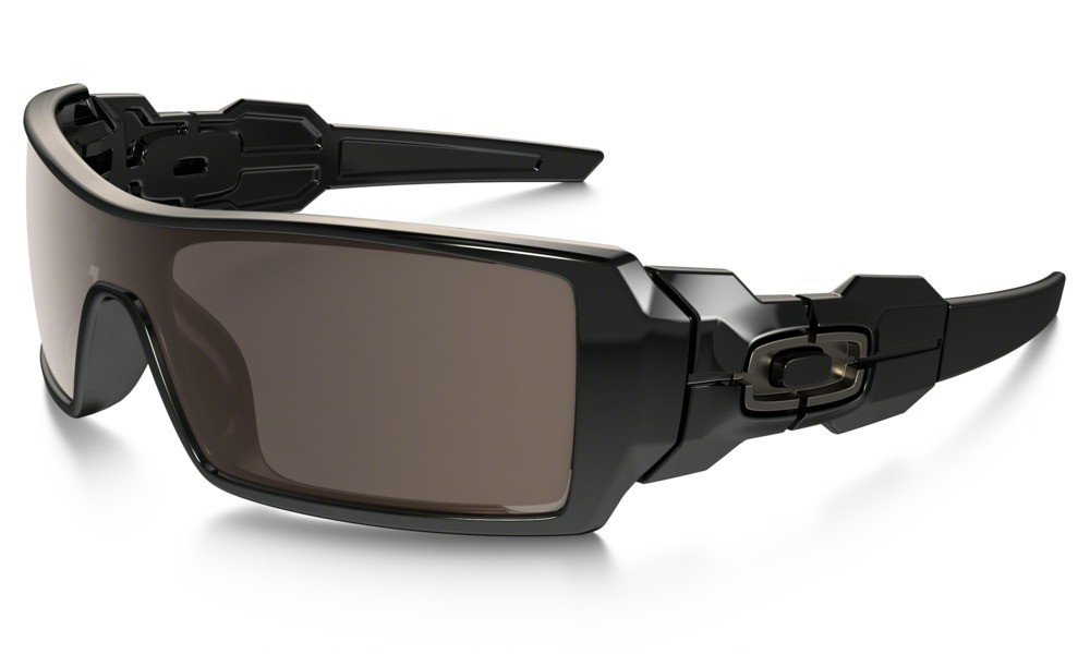 Oakley Oil Rig Polished Black Warm Grey