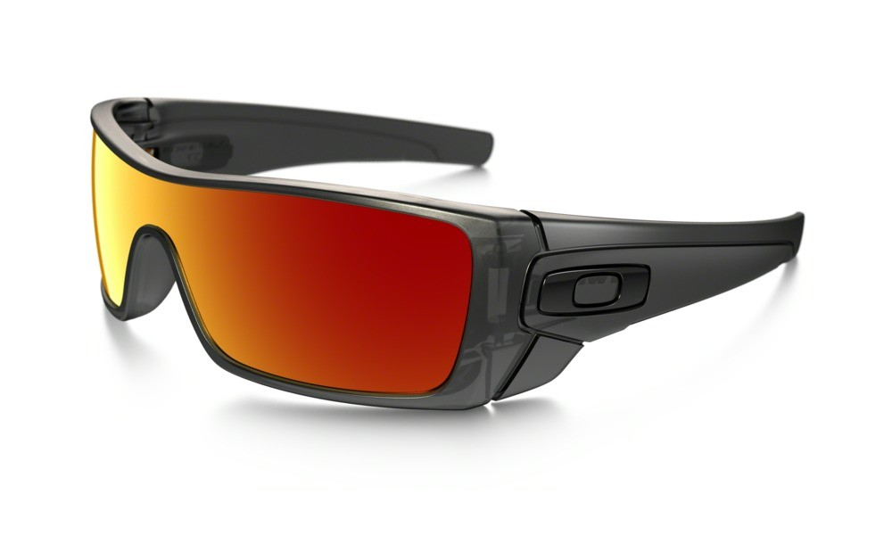 Oakley Batwolf Matte Black Ink Ruby Iridium
