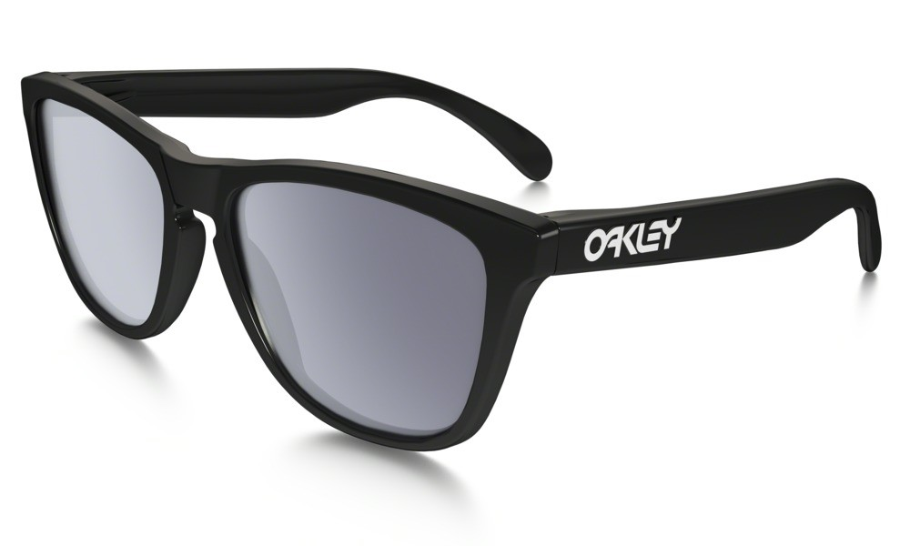 Oakley Frogskin polished black/grey