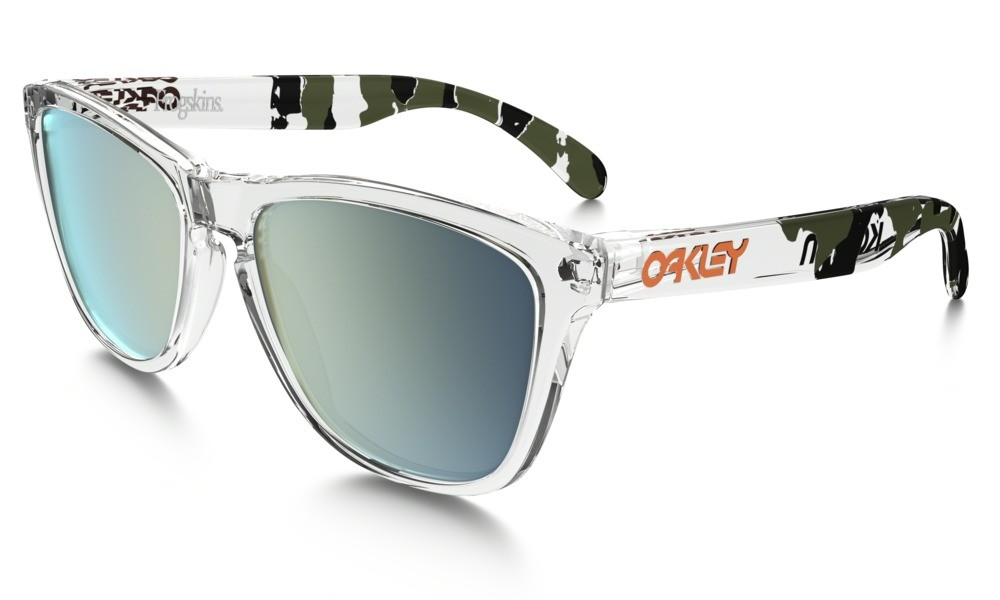 Oakley Frogskin Clear Emerald Iridium