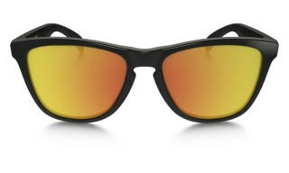 Oakley Frogskin Polished Black (VR/46) Fire Iridium č.2