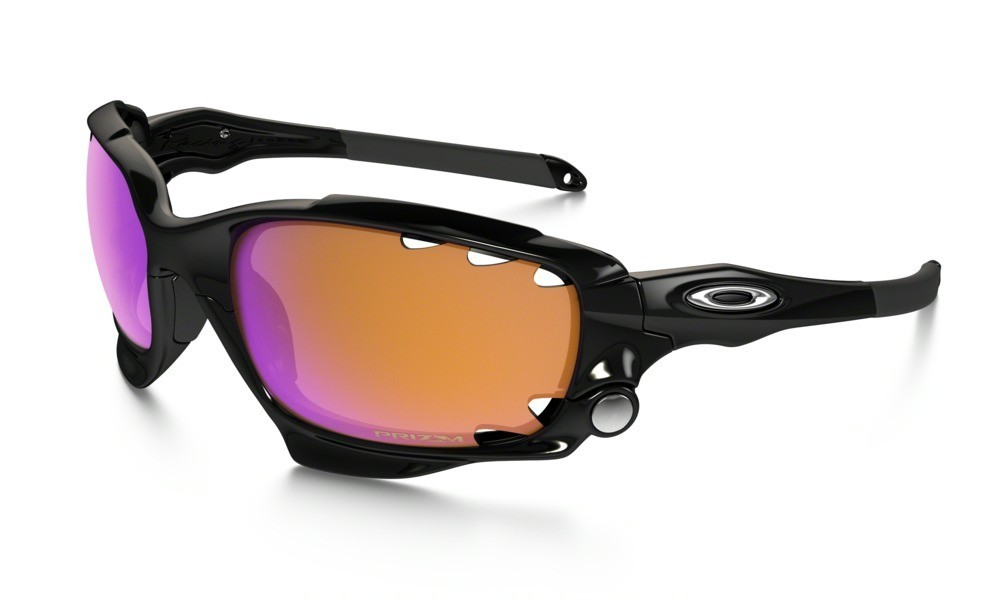 Oakley Racing Jacket Polished Black Prizm Trail