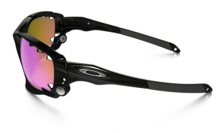 Oakley Racing Jacket Polished Black Prizm Trail č.4