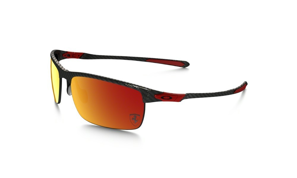 Oakley Carbon Blade Ferrari Red Ruby Iridium Polarized