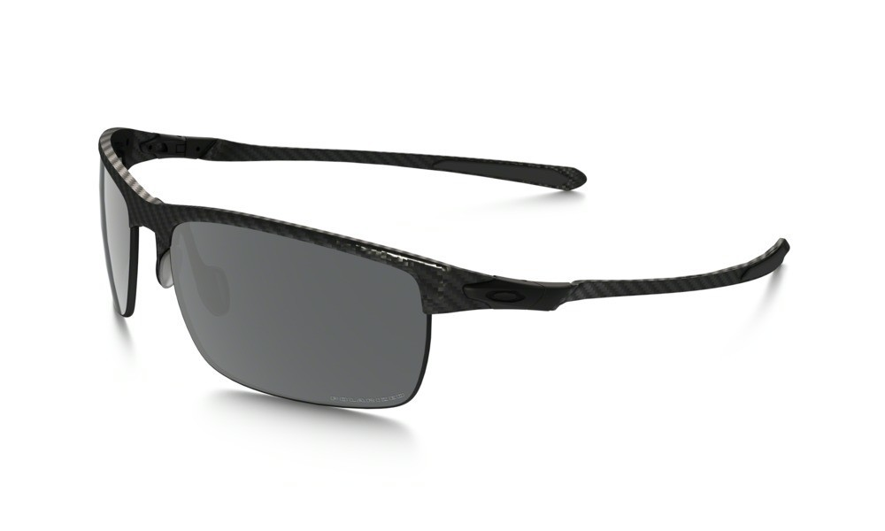 Oakley Carbon Blade Matte / Satin Black Iridium Polarized