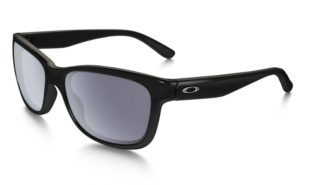 Oakley Forehand Polished Black Grey