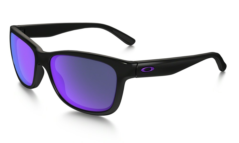 Oakley Forehand Polished Black Violet Iridium