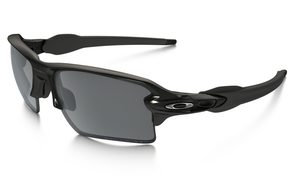 Oakley Flak 2.0 XL Polished Black Black Iridium Polarized