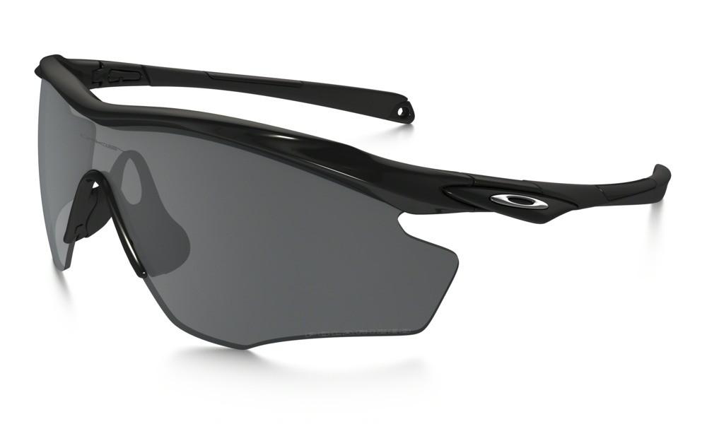 Oakley M2 Frame XL Polished Black Black Iridium Polarized