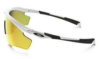 Oakley M2 Frame XL Polished White Fire Iridium č.4