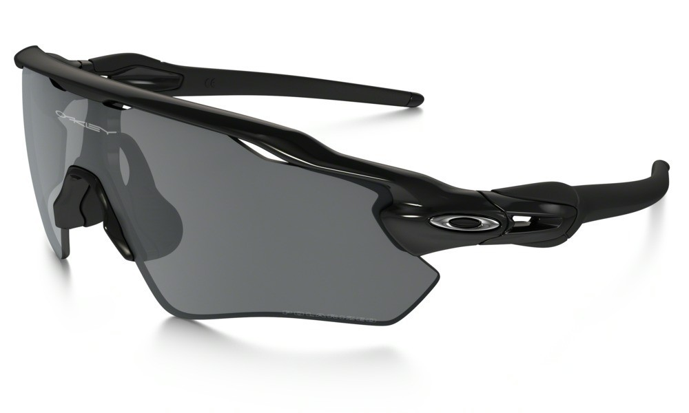 Oakley Radar EV Path Polished Black Black Iridium Polarized