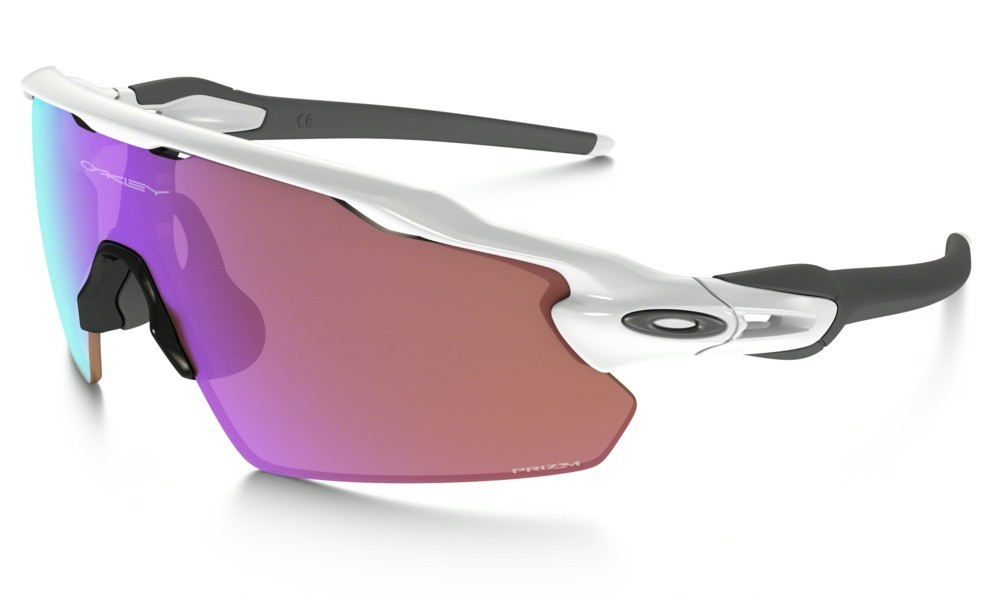 Oakley Radar EV Pitch Polished White Prizm Golf