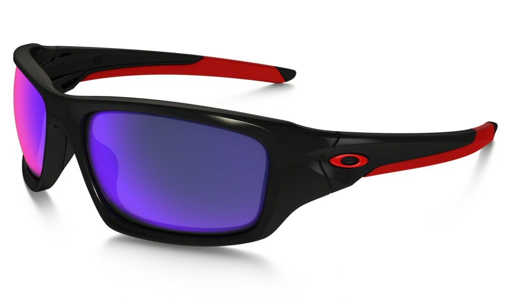 Oakley Valve Polished Black Positive Red Iridium