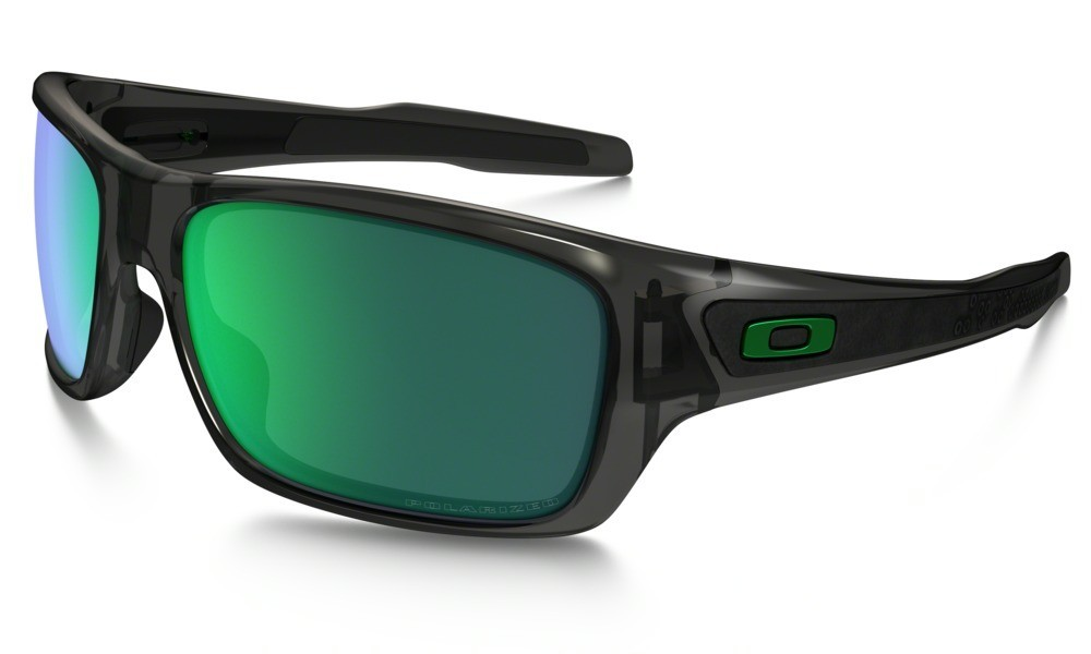Oakley Turbine Grey Smoke Jade Iridium Polarized