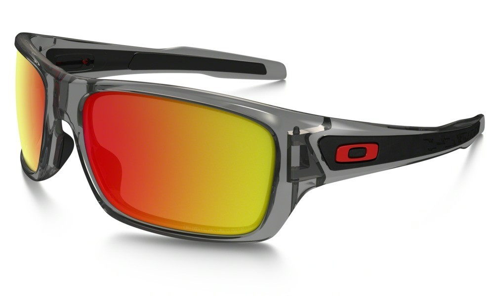 Oakley Turbine Grey Ink Ruby Iridium Polarized