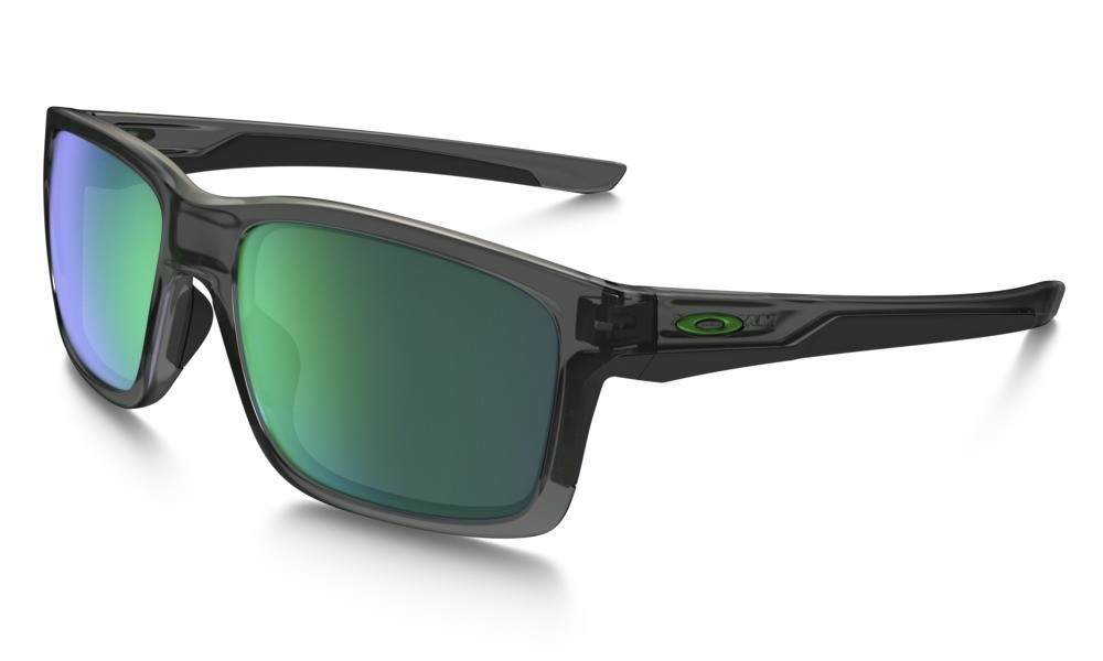 Oakley Mainlink Grey Smoke Jade Iridium