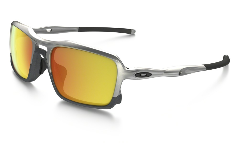 Oakley Triggerman Silver /Steel Fire Iridium