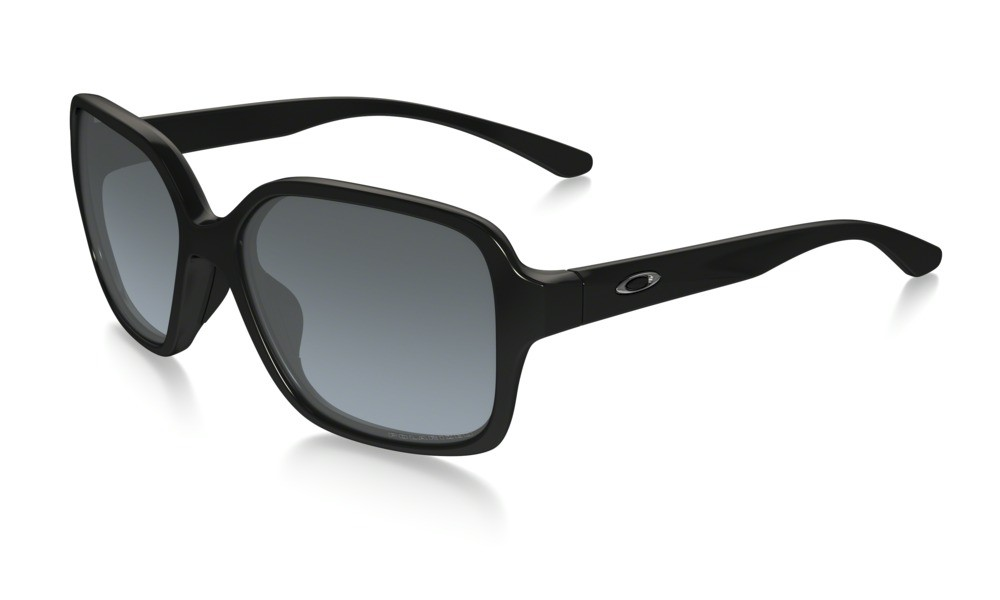 Oakley Proxy Polished Black Grey Gradient Polarized
