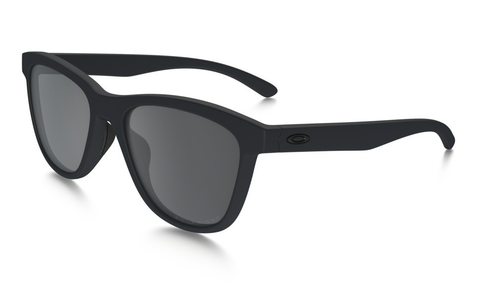 Oakley Moonlighter Steel Black Iridium Polarized
