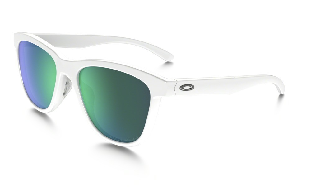 Oakley Moonlighter Polished White Jade Iridium Polarized