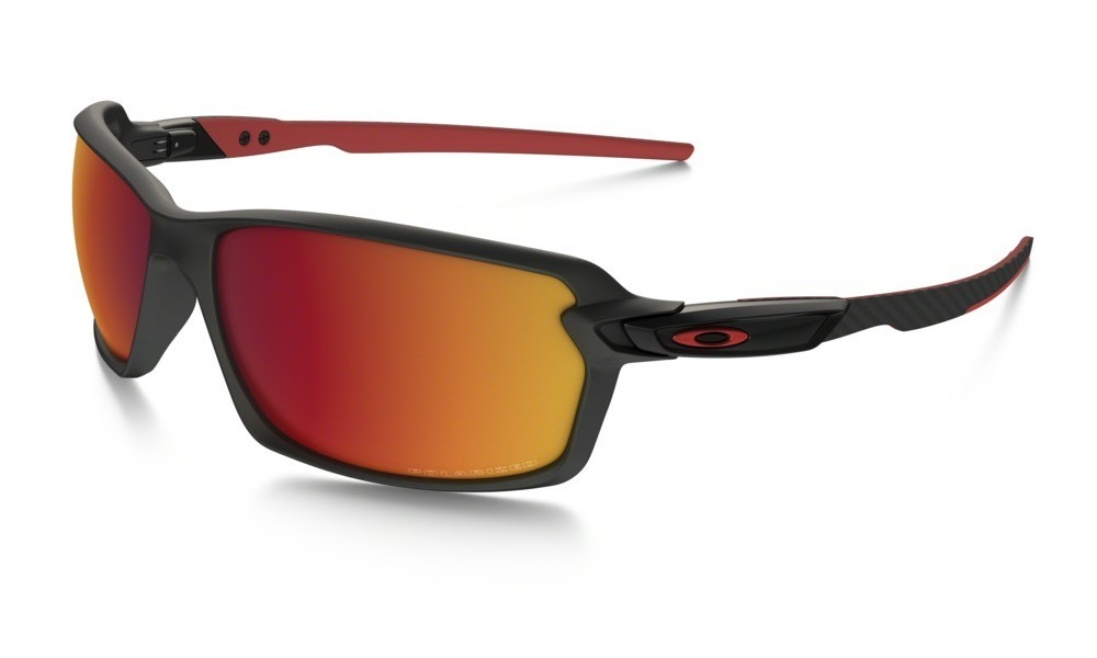Oakley Carbon Shift Matte Black Torch Iridium Polarized