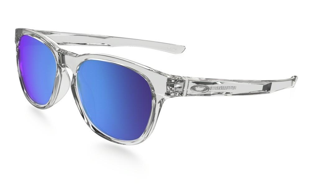 Oakley Stringer Polished Clear Sapphire Iridium