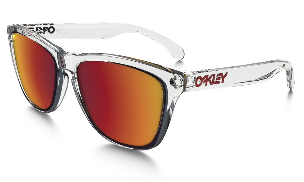 Oakley Frogskin Crystal Clear Torch Iridium