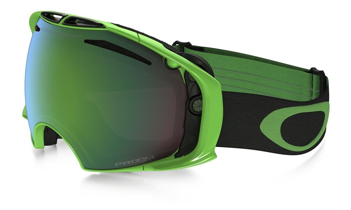 Oakley 80'S Green Prizm Airbrake - Green/Prizm Goggle Jade Iridium