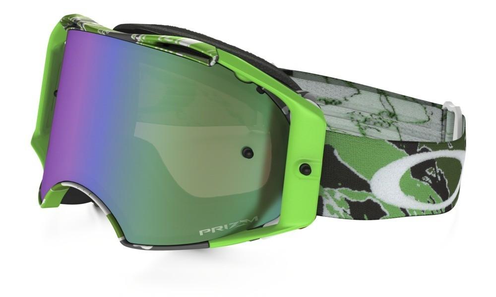 Oakley Airbrake Prizm MX Tomac Green Camo Signature