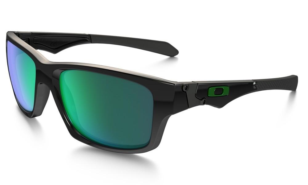 Oakley Jupiter Polished Black Jade Iridium