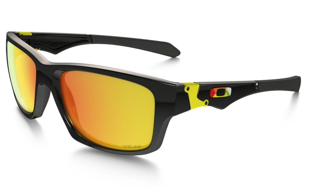 Oakley Jupiter Polished Black (VR/46) Fire Iridium